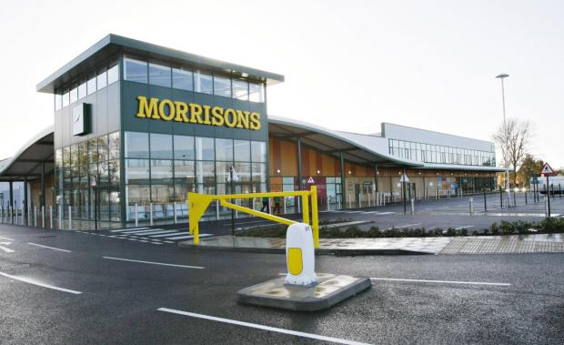 Morrisons in Ascot Road, West Watford.