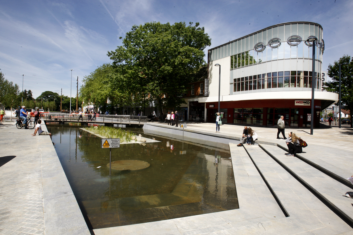 Pictures: compare the new Watford pond with its former self