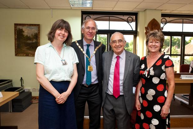 Chris Lloyd elected as new chairman of Three Rivers District Council