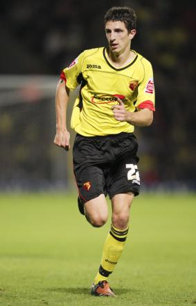 Craig Cathcart during his time on loan at Watford in 2009. Picture: Action Images