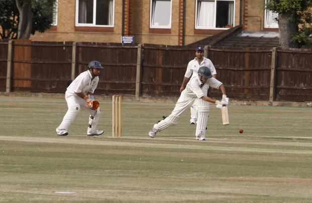 Holders West Herts (batting) were knocked out of thi