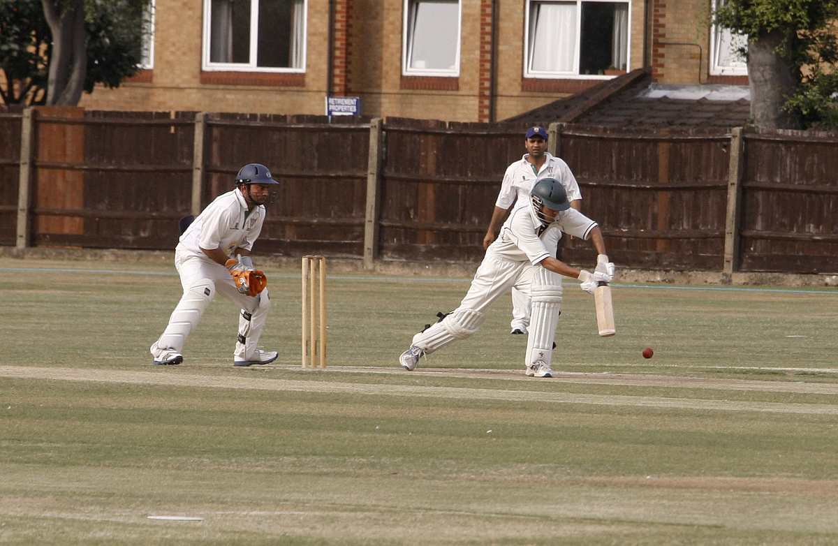 Holders West Herts (batting) were knocked out of this year's