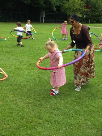 Hundred of Abbots Langley children take part in charity 'Hoopathon'