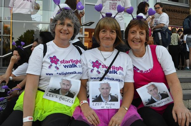 Force of female fundraisers step out for Starlight Walk
