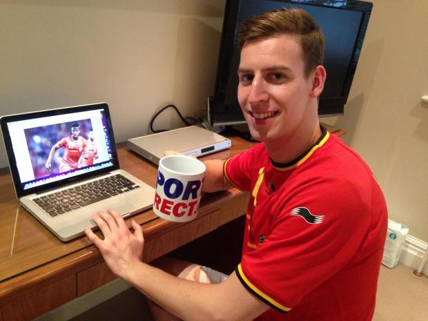 Belgian football team fansite proves a big hit for Bushey webmaster