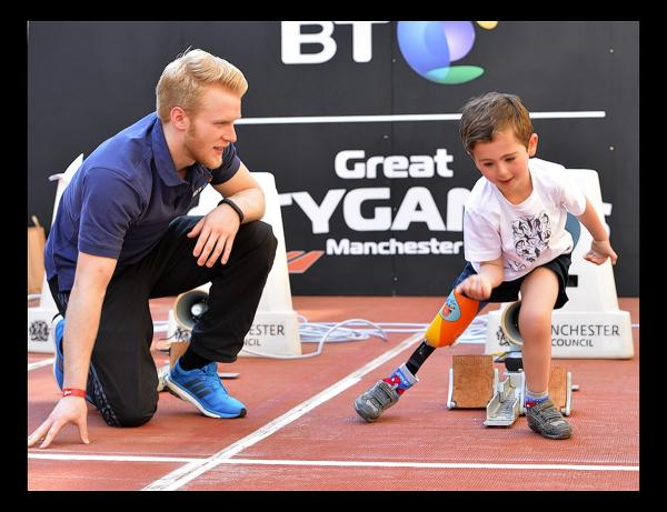 Rio getting tips of Paralympic gold medalist Jonnie Peacock