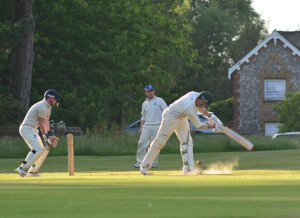 Abbots Langley reached the last four of the Shield with vic