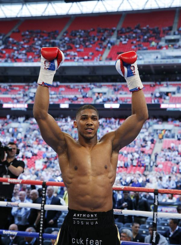 Joshua could follow Harrison path says Skelton