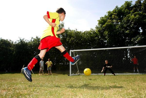 Penalty shootout at last year's Watford Observer funday.