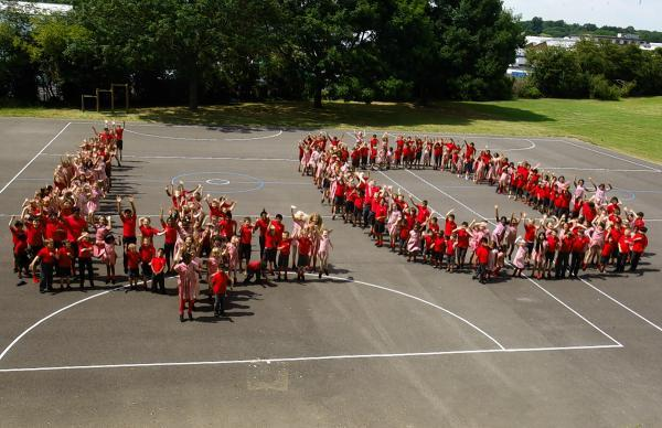 Pupils celebrate 40th anniversary of St Antony's Catholic Primary School