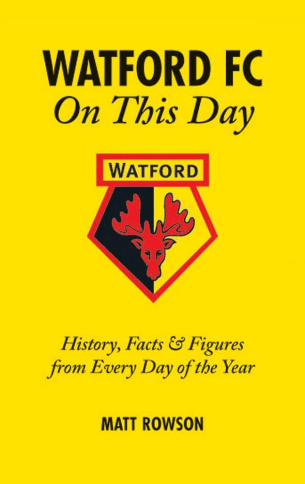 Watford Observer: On this date in Watford FC history