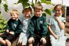 New irrigation system helps Bromet Primary School pupils get the most out of vege garden