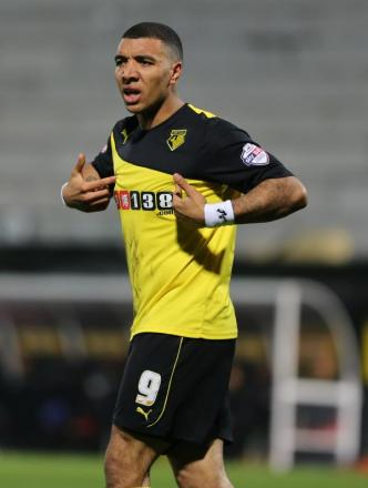 Troy Deeney is fancied to find the net this weekend: Dave Peters