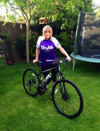 Watford woman inspired to undertake 300 mile charity ride after stroke