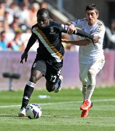 Emmanuel Frimpong during his time on loan at Fulham. Picture: Action Images
