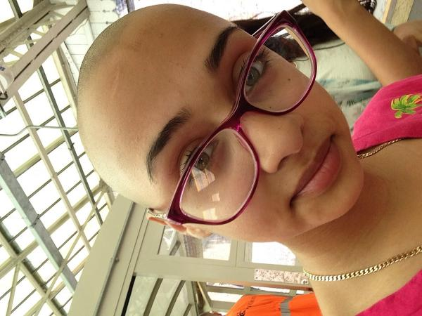 Watford teen raises thousands for cancer charity by shaving head