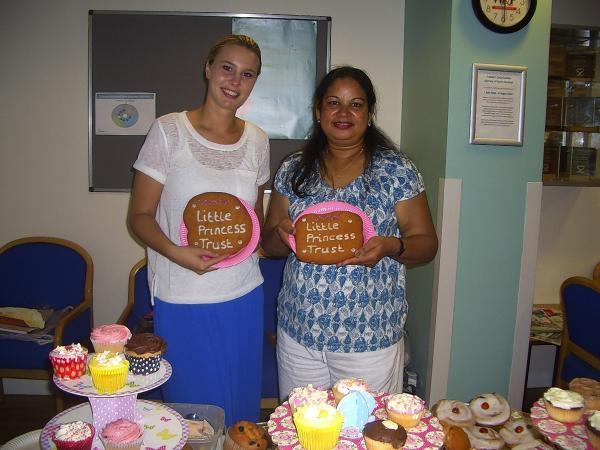 Hospital cake sale raises nearly £200 for children's charity