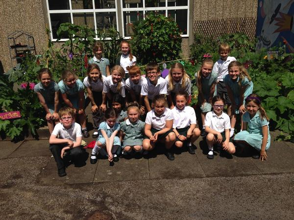 Croxley Green pupils will gardening competition