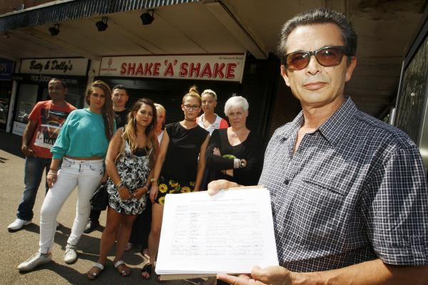 Existing shopkeepers oppose new cafe in Bushey parade