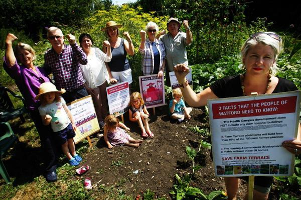 Farm Terrace Allotments: 'David versus Goliath' fight to be taken to High Court