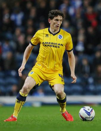 Keith Andrews during his time at Brighton & Hove Albion. Picture: Action Images