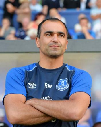 Everton manager Roberto Martinez. Picture: Action Images
