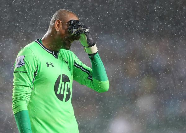 Gomes endured a difficult spell at Tottenham Hotspur. Picture: Action Images