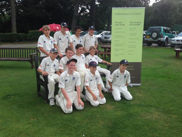 Kings Langley Under-13s unfortunate to lose out at ECB Regional Finals