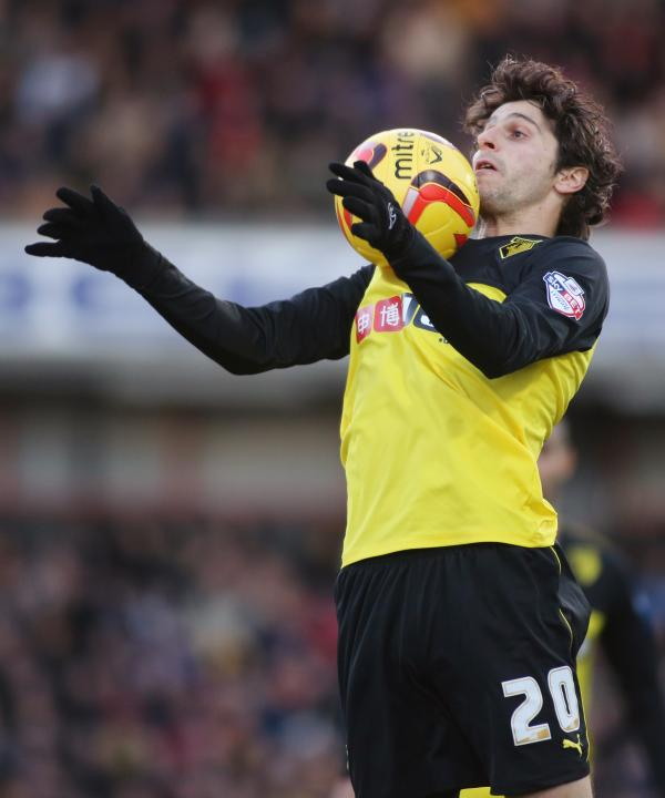 Fabbrini could be 'big, big player' for Hornets. Picture: Action Images