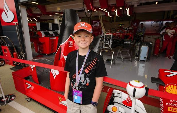 Bushey Heath primary school pupil wins competition to visit Silverstone
