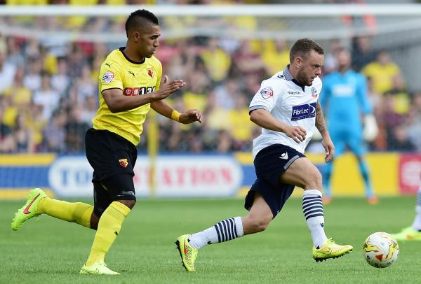Lewis McGugan impressed agianst Bolton Wanderers. Picture: Action Images
