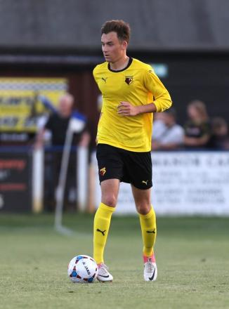 Watford youngster Tom Rosenthal. Picture: Dave Peters
