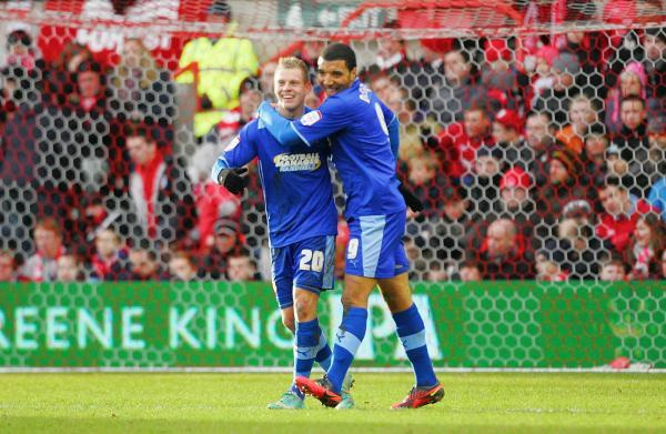 Troy Deeney and Matej Vydra were a prolific partnership during the 2012/2013 campaign Picture: Action Images