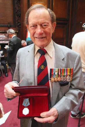 Watford Arctic Convoy veteran presented with bravery medal at the Russian Embassy, 70 years on