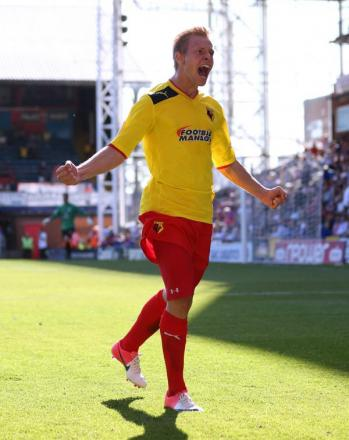 Vydra: I'm under pressure to deliver goals. Picture: Action Images