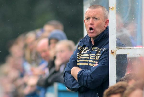 Leeds boss Dave Hockaday. Picture: Action Images