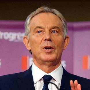 Tony Blair congratulated the Egyptian government on its successful negotiations