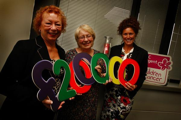 Watford business raises £200,000 for children and young people with cancer