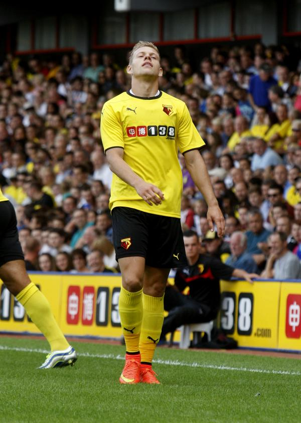 Vydra has not been at his best this season. Picture: Holly Cant