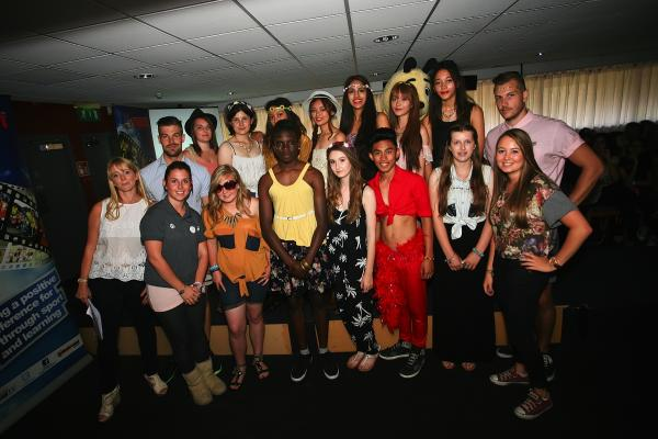 Teenagers hold fashion show to raise money for Peace Hospice Care