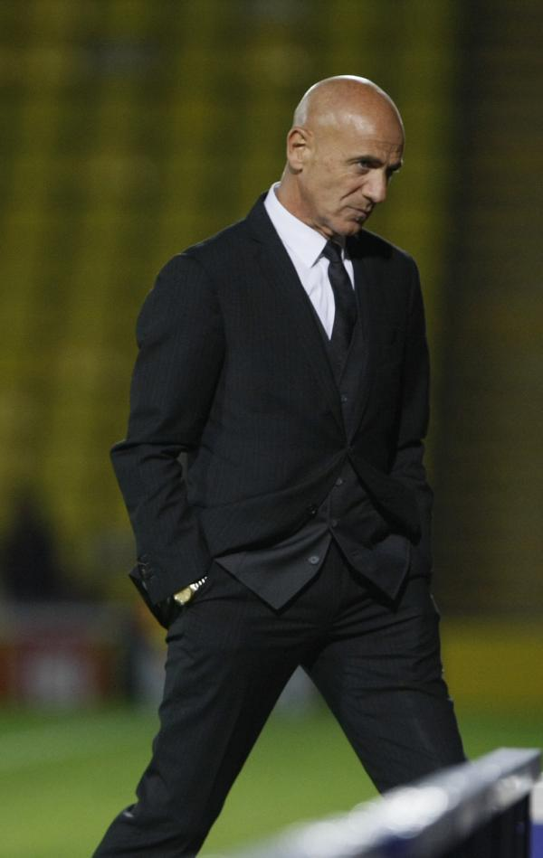 Beppe Sannino walked away from Watford last night. Picture: Holly Cant.