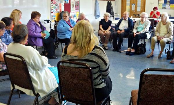 Life begins at 55! Orbital Community Centre and Manor House Five Ways Friends Club