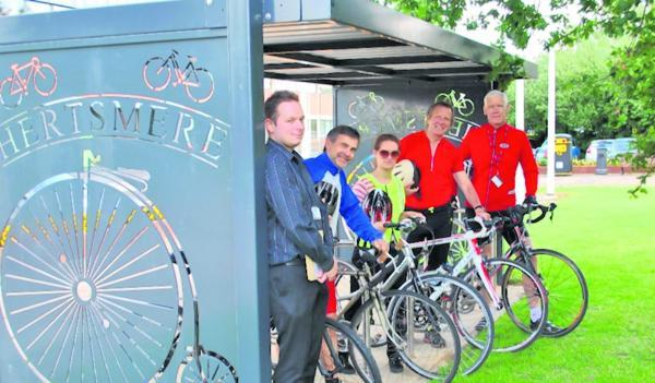 Hertsmere Borough Council staff support Cycle to Work Day