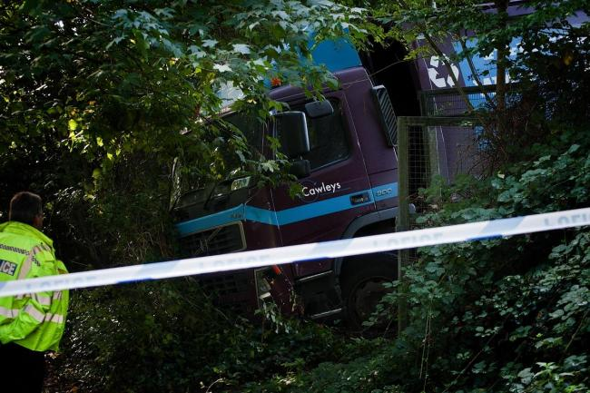 Man who died after becoming trapped under waste disposal truck in Watford has been named