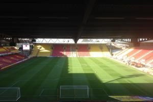 Discuss the action as Watford welcome title rivals Derby County