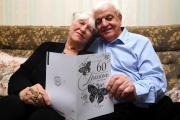 Tony and Sylvia Hatton celebrate 60 years of marriage
