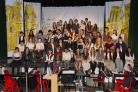 Photo by Vancols: Cast of Les Miserables at Bushey Meads School