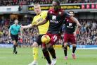 Cameron Jerome scored Norwich City's second goal at Watford. Picture: Action Images.