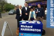 Secretary of State for Culture, Media and Sport joined Watford's Conservative parliamentary candidate in Abbots Langley today