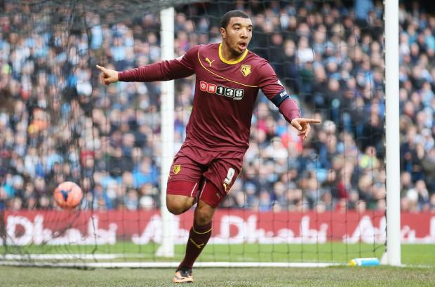 Watford Observer: Deeney Action Images